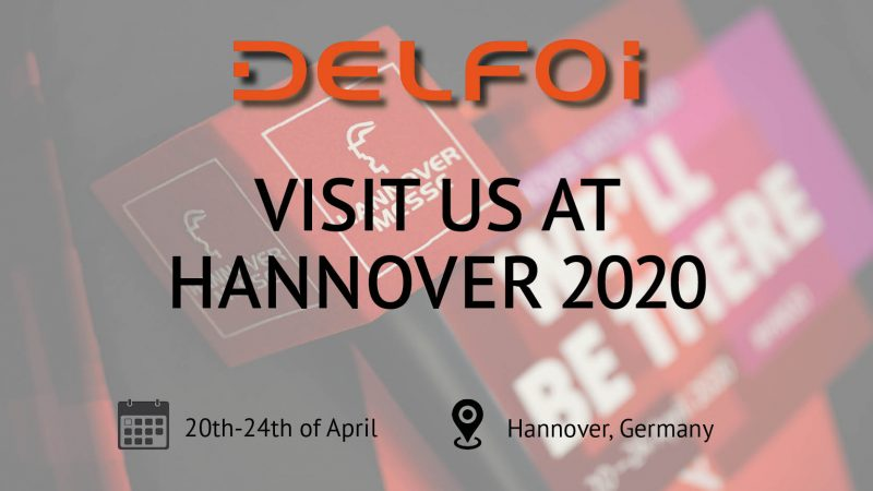 DELFOI PLANNER AND ROBOTICS AT HANNOVER 2020 – CANCELLED